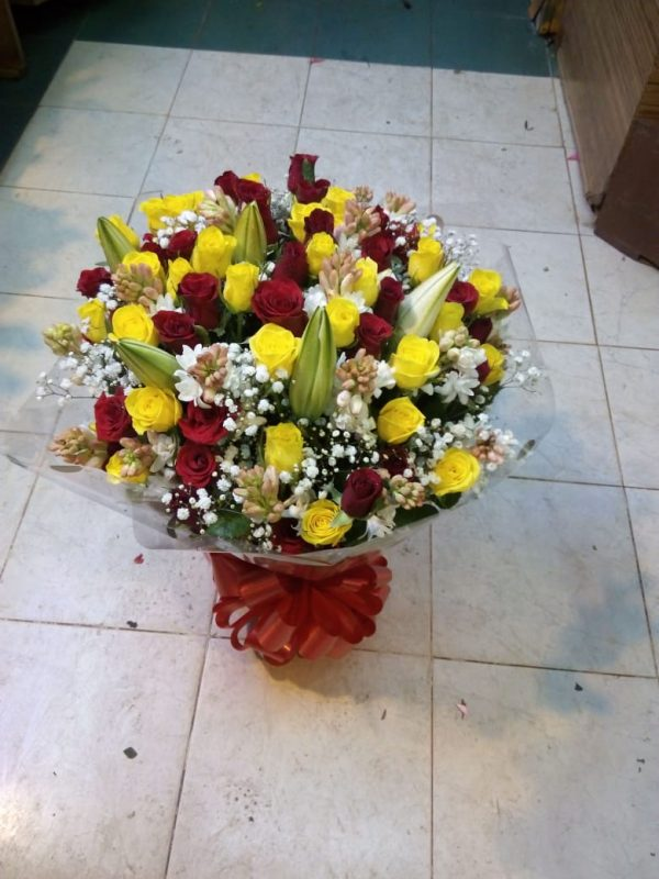 Water bouquet arrangement